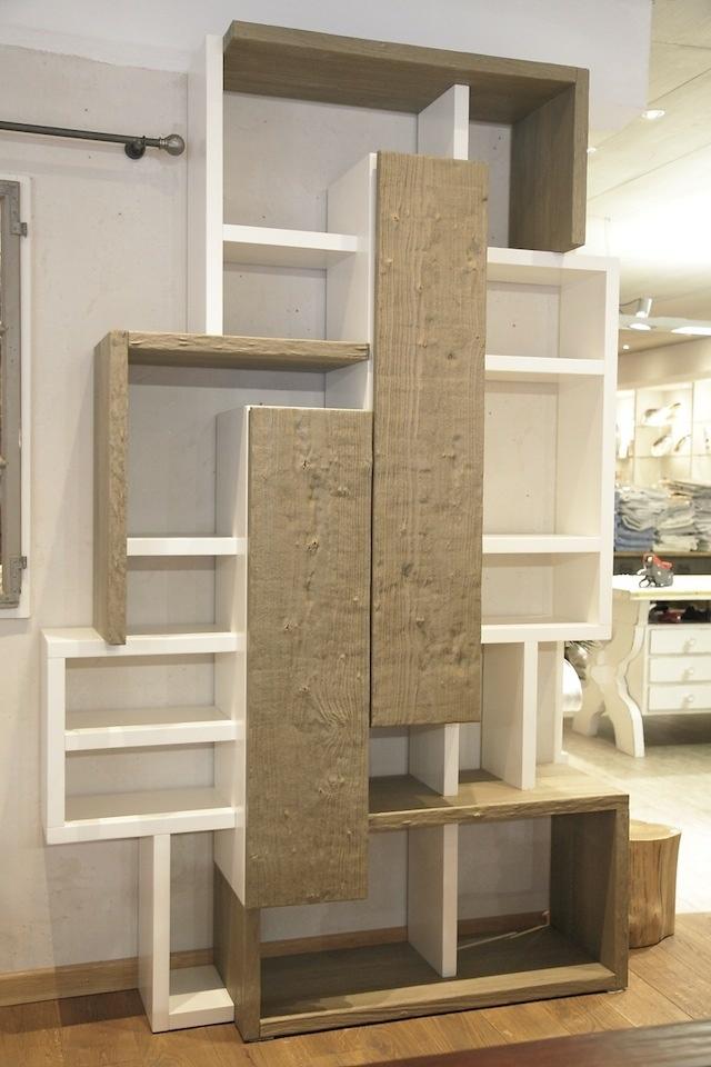 """Imagebild von Bücherwand """"Fossil"""""""